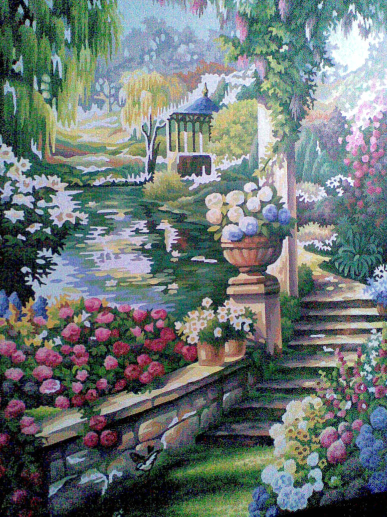 Paradise garden by Gemini1988