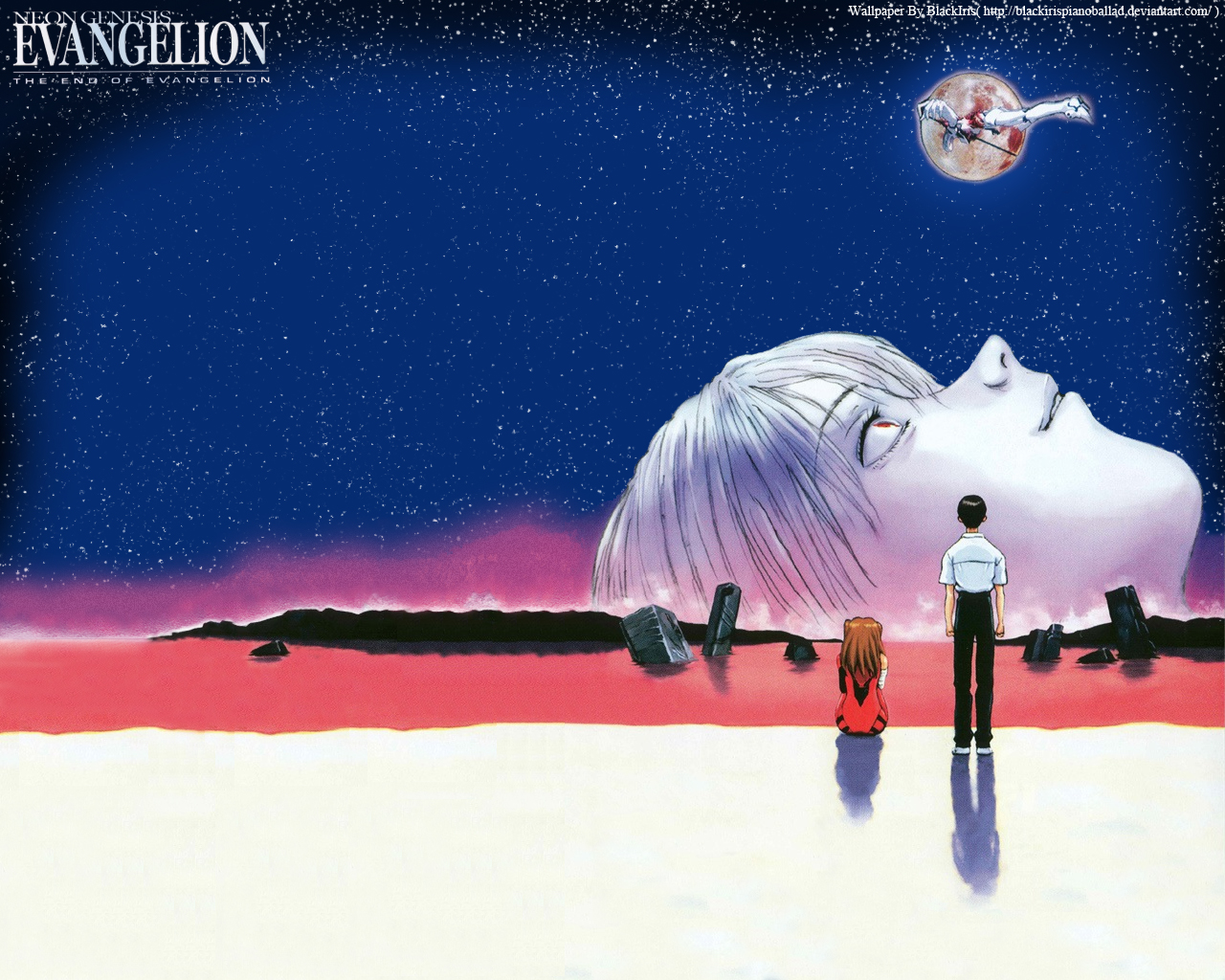 The end of Evangelion   漫画イラスト, イラスト, アニメ