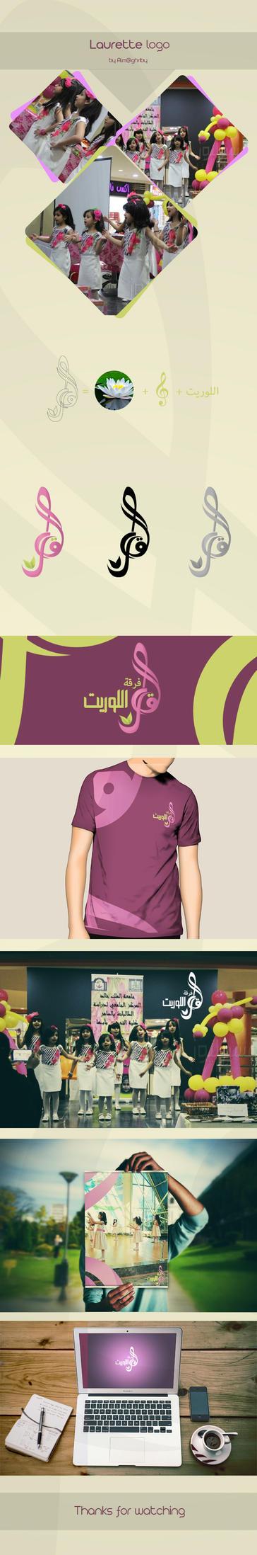 Laurette band new logo by ahdaiba