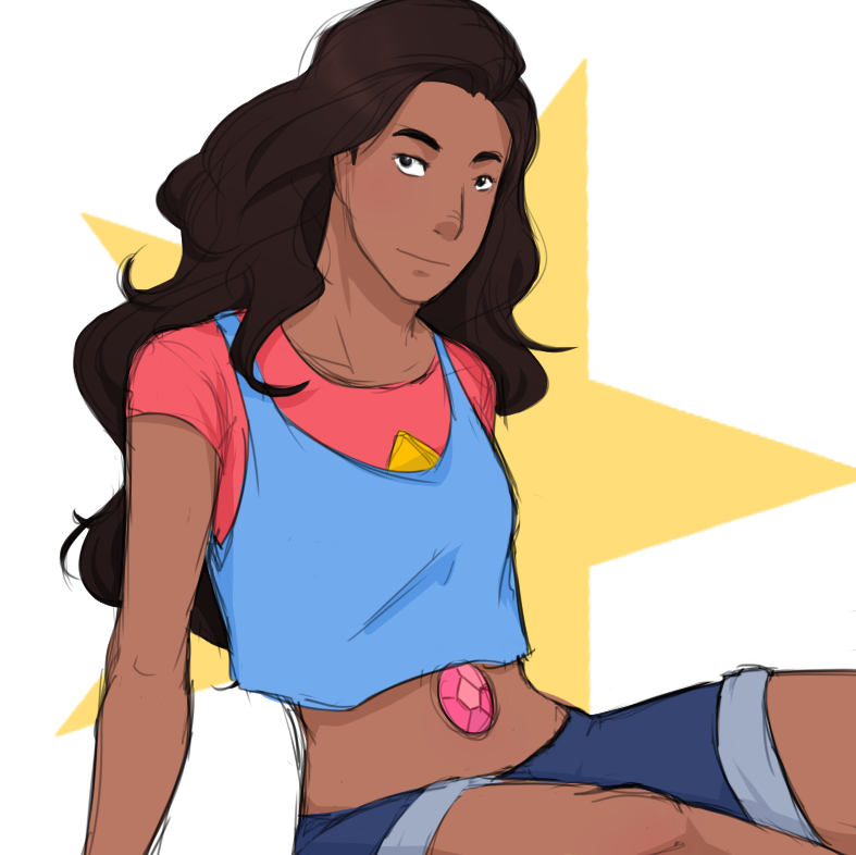 Just watched the newest episode of Steven Universe, Stevonnie is great... like so great~ who would've thought a fusion of a boy and girl would look so androgynous and goooood~
