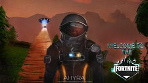 Fortnite Astronaut - Dark Voyager