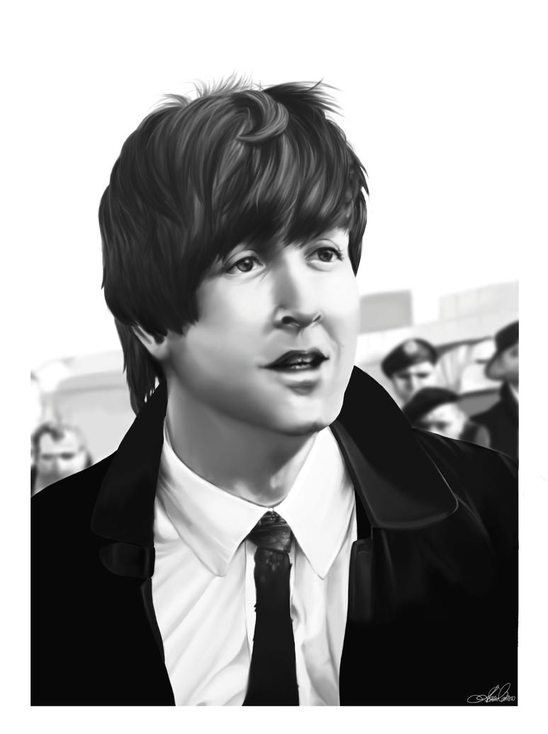Paul McCartney By MissAudi
