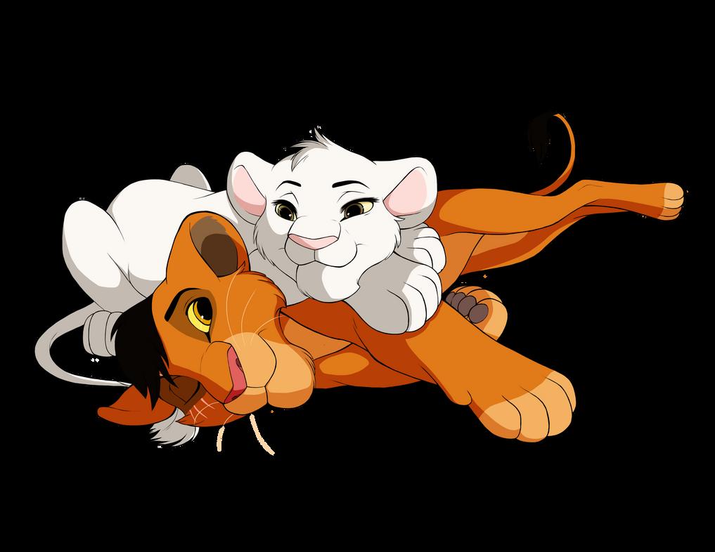 Commission: Sora and Akili by MissAudi