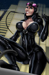 Cat Woman by MissAudi