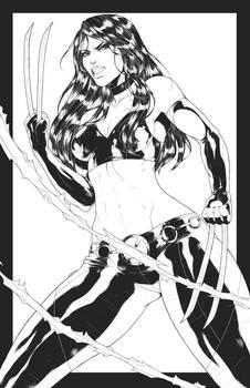X-23 / Laura Kinney Inks