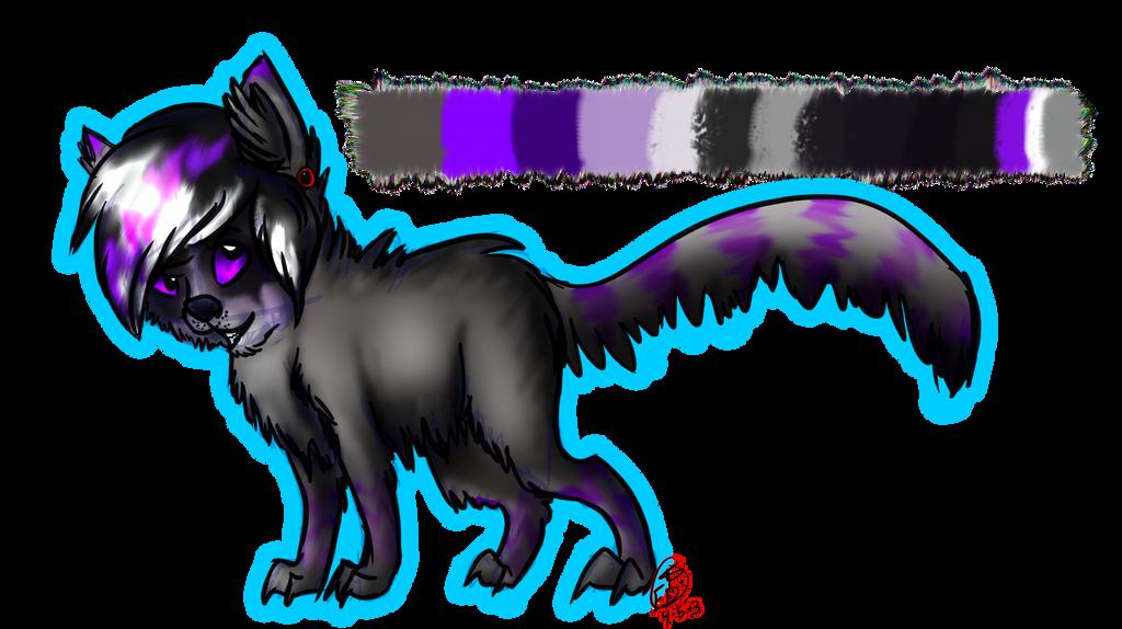 Un-Named Racoon Fursona by MidnightandZanzibar on DeviantArt