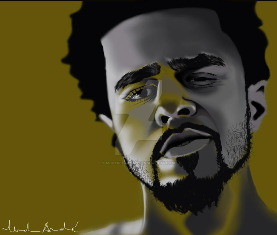 J. Cole by michaelAndr3