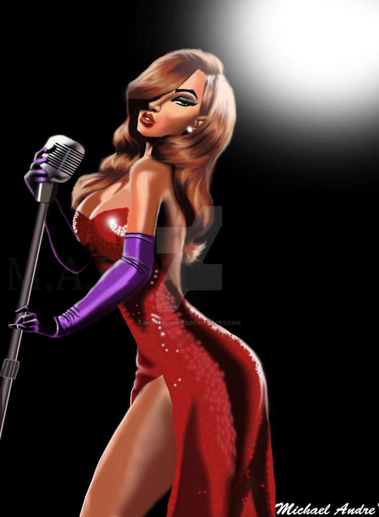 Jessica Rabbit 2015 by michaelAndr3