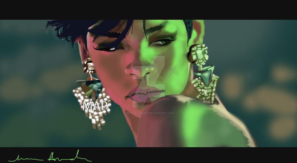Rihanna REHAB VIDEO by michaelAndr3