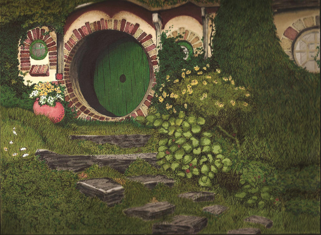 Hobbit Hole by MoonYuun