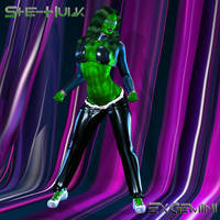 She-Hulk Casual Clothing Final by ExGemini