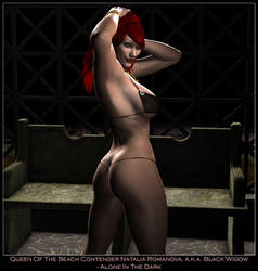Queen Of The B. - Black Widow by ExGemini