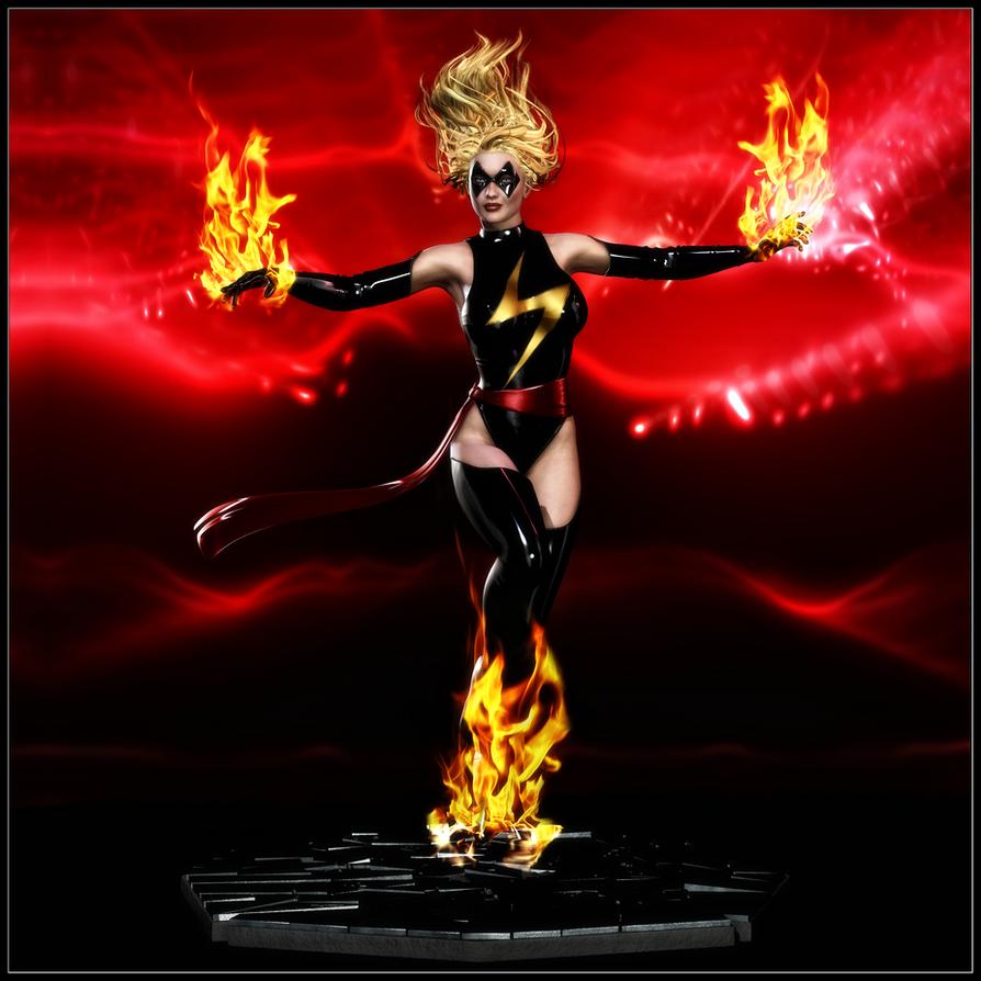 Comiquette - Ms. Marvel by ExGemini