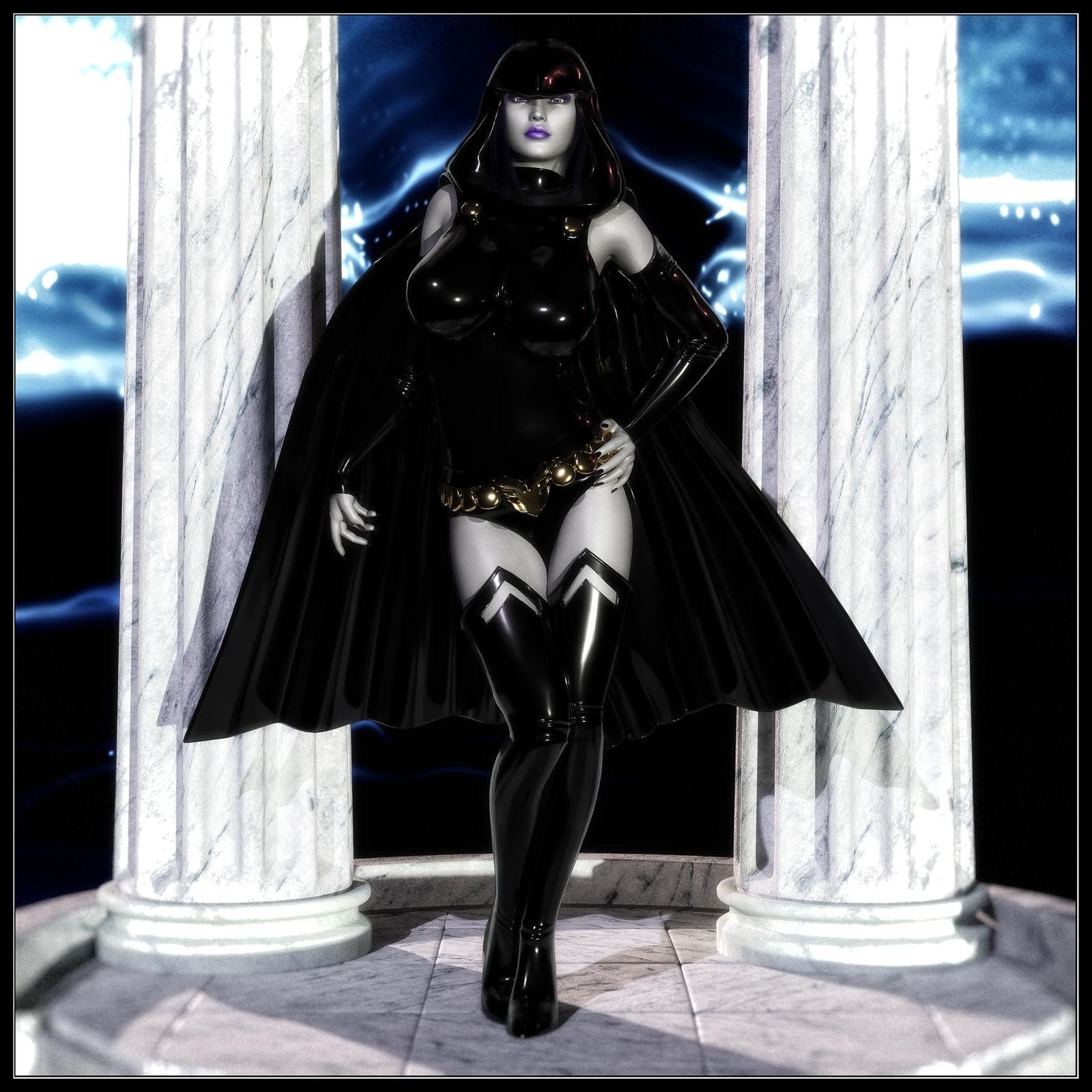 Comiquette - Raven by ExGemini