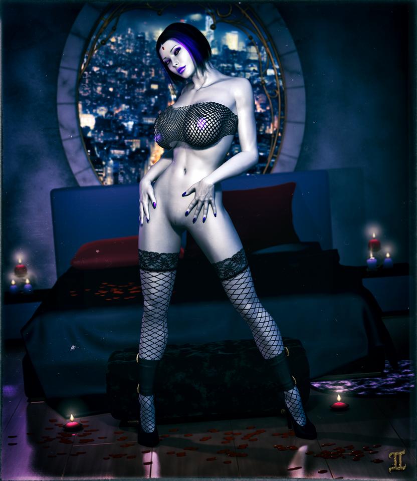 Romantic Raven by ExGemini
