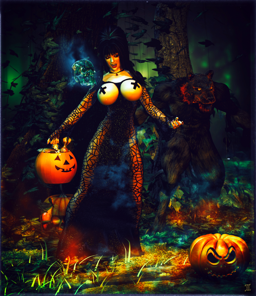 Tricks or Treats Halloween 2014 by ExGemini