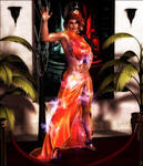 Io, a woman on fire