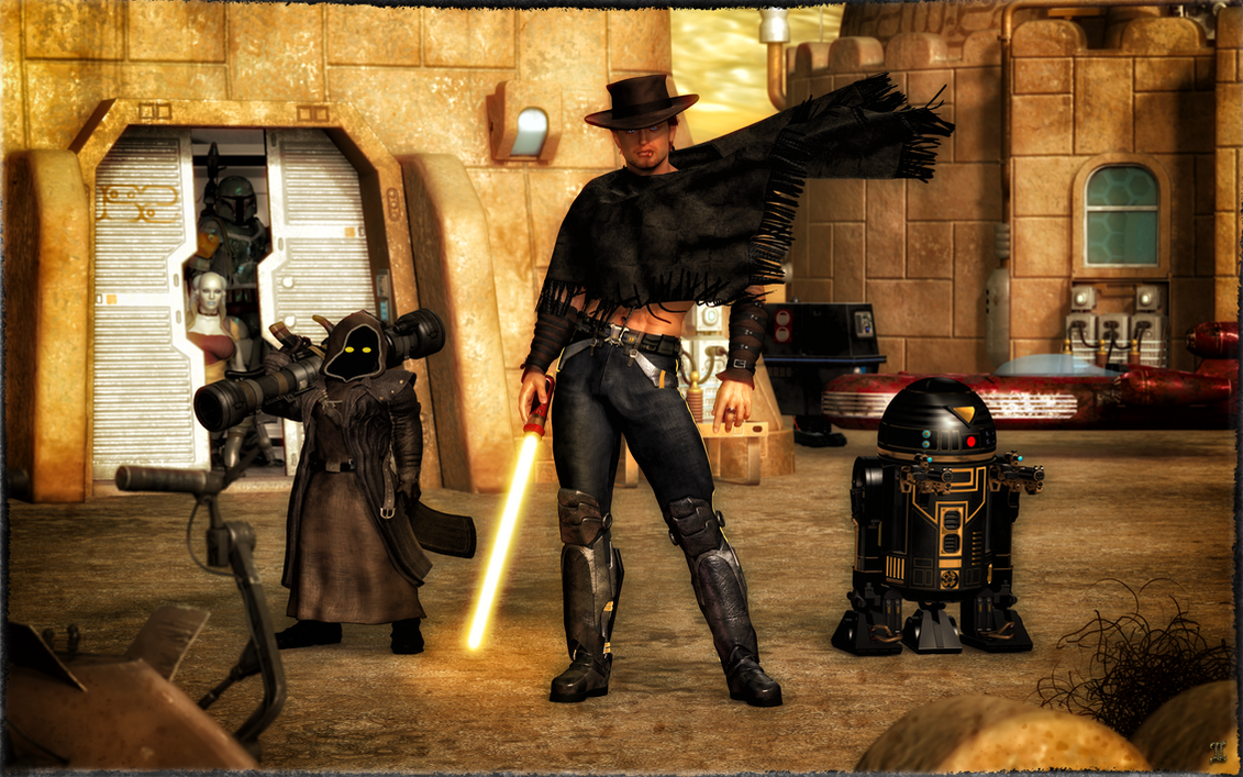 It's High Noon ... In a galaxy far away by ExGemini