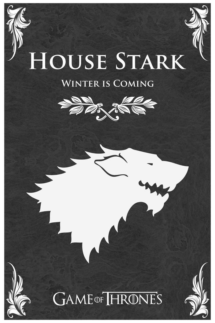 Game Of Thrones House Stark By Stanxv On Deviantart