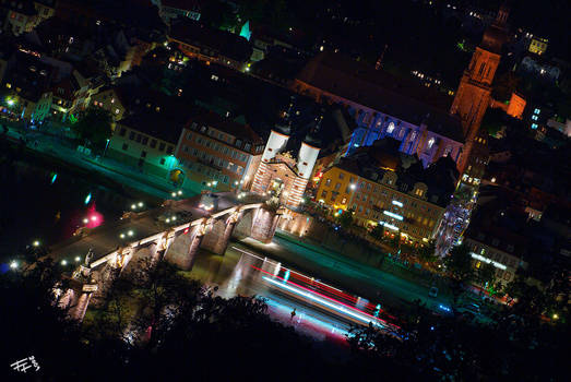 heidelberg by night