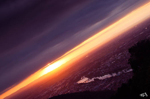 evening above heidelberg