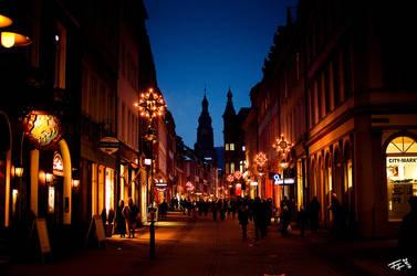 old city lights