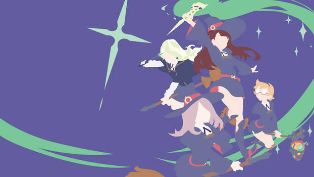 Little Witch Academia Wallpaper by oldloop