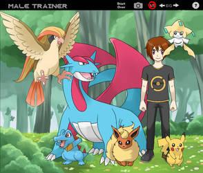 Pokemon trainer Alister by beverlyhen