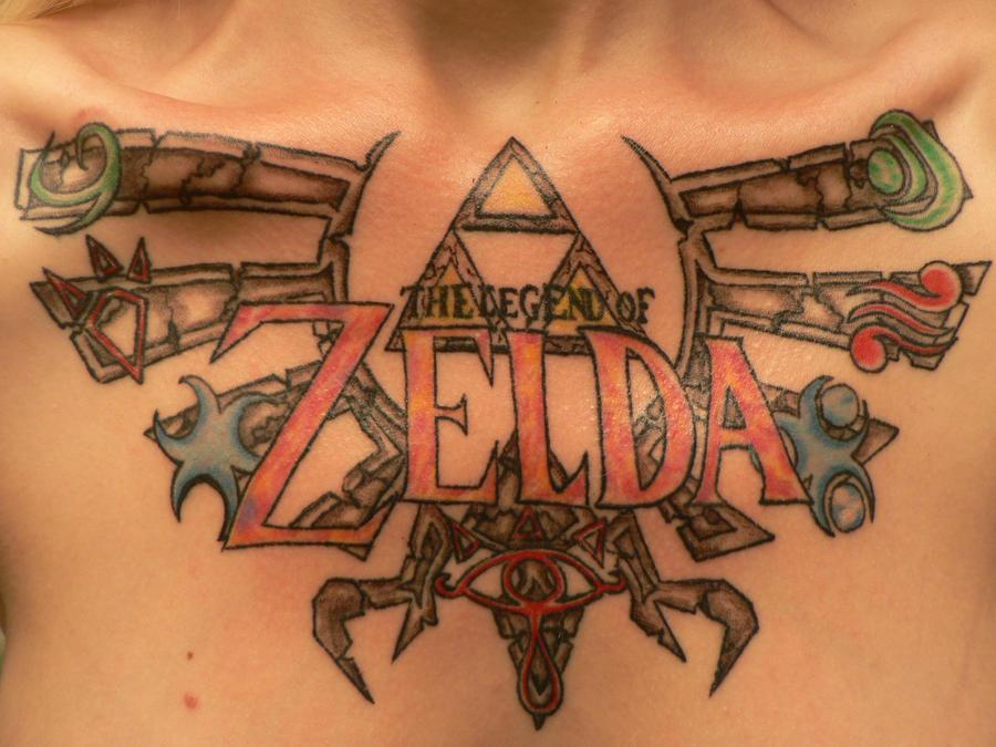 Legend of Zelda Tattoo by Midna514