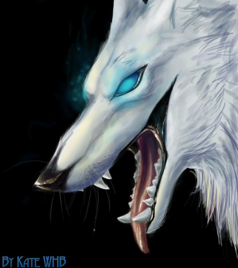 Demon Wolf Demon Wolf oo by Katewhb