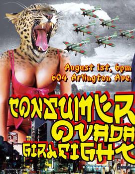 Arlington gig poster - 8-1-09