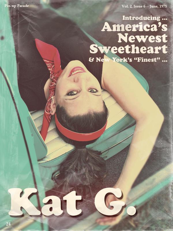 Kat Vintage Magazine clip