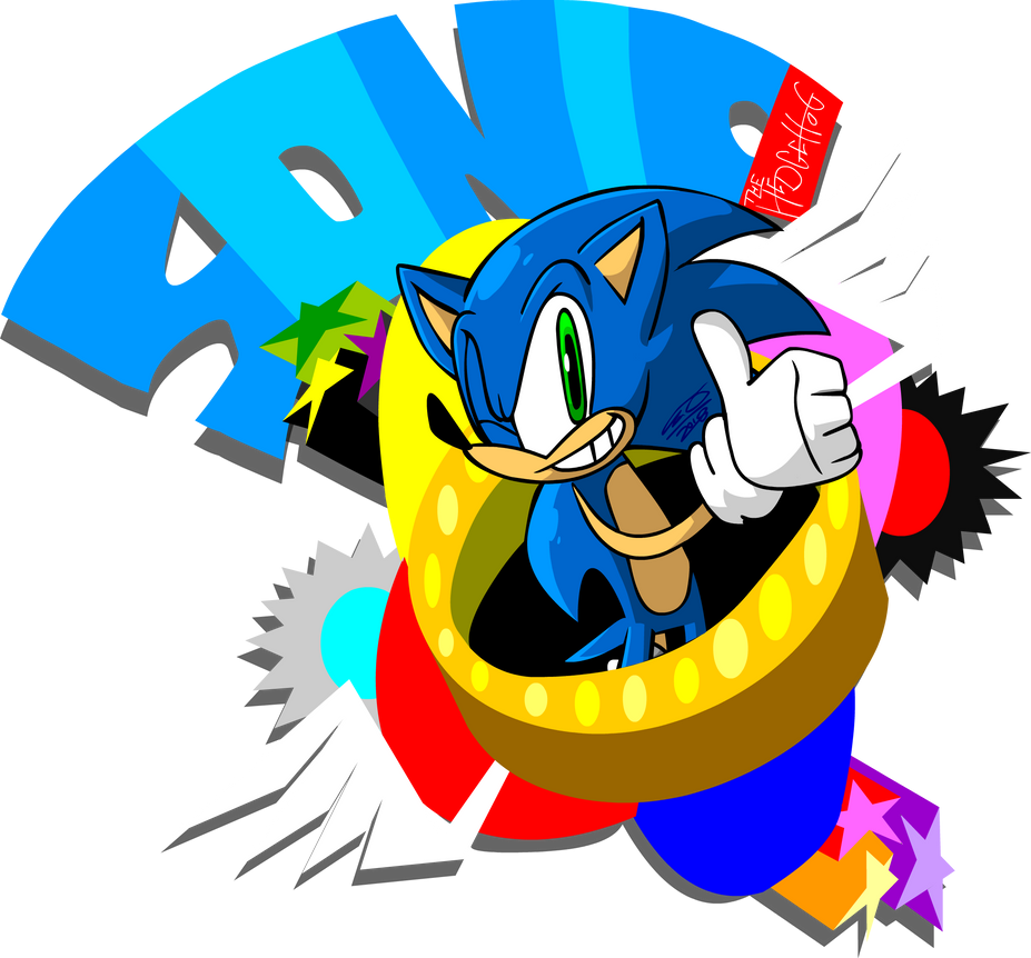 Sonic The Most Famous Hedgehog...? by TanookiDX