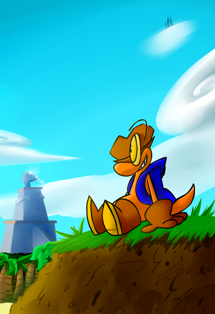 Chip Island: What a View! by TanookiDX