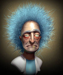 Rick Sanchez by 90swil