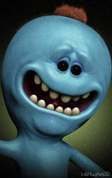 Mr Meeseeks by 90swil