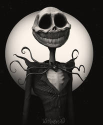 Jack Skellington by 90swil