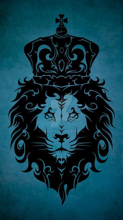 Tribal King Lion by Takihisa