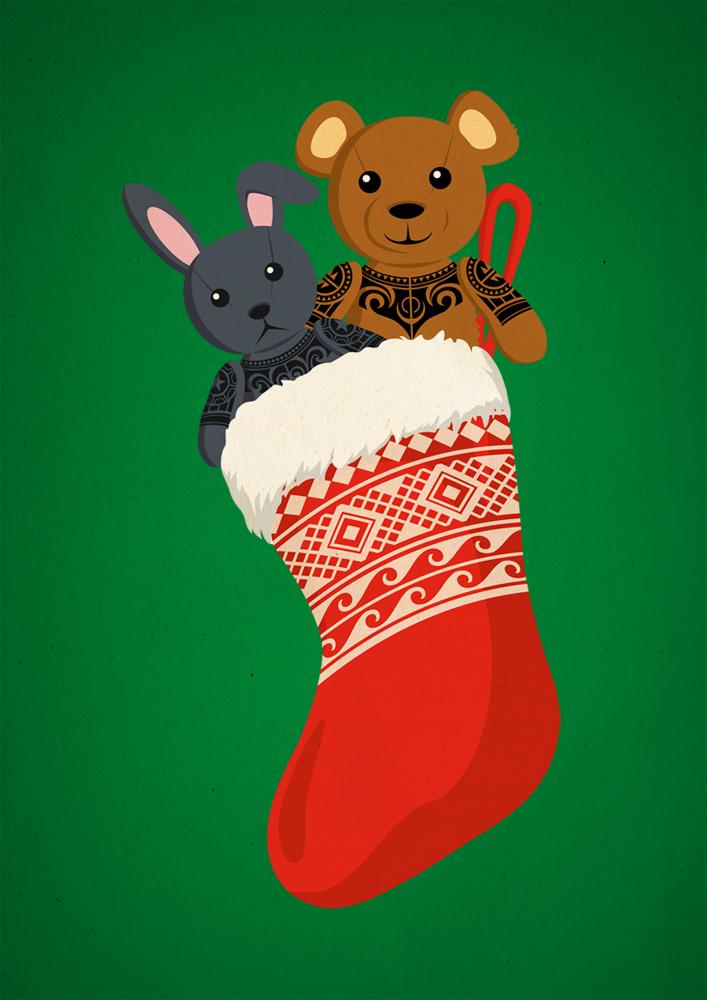 Christmas Socks by Takihisa