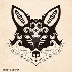 Tribal Fox (Ainu style tribal)