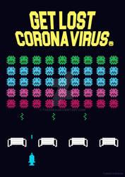 Get lost corona virus.