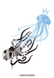 Octopus and Jellyfish