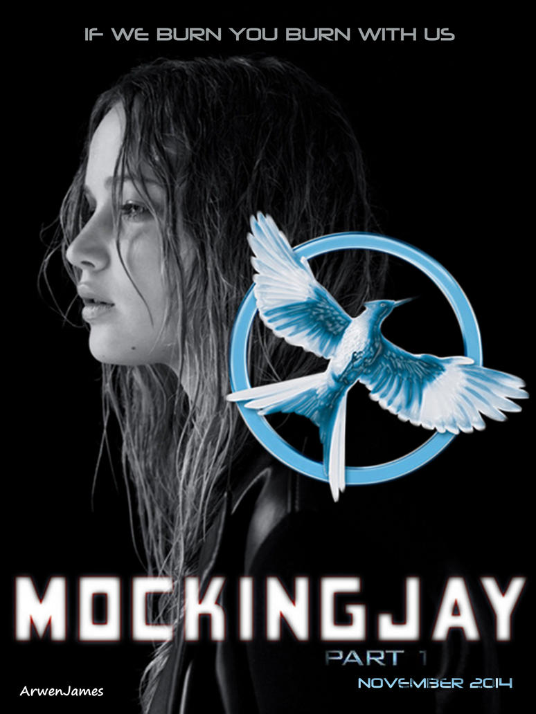 Mockingjay Poster by ArwenJames