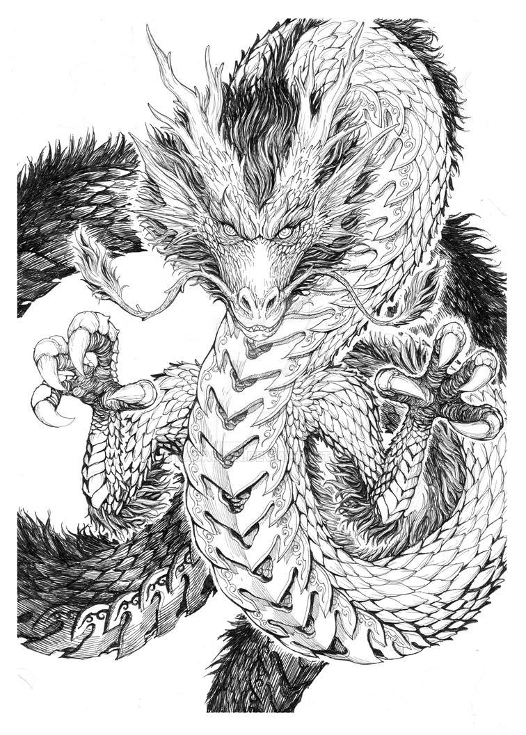 Dragon by kasau-vn