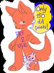 p2u anthro chibi canine (or... feline??) lines