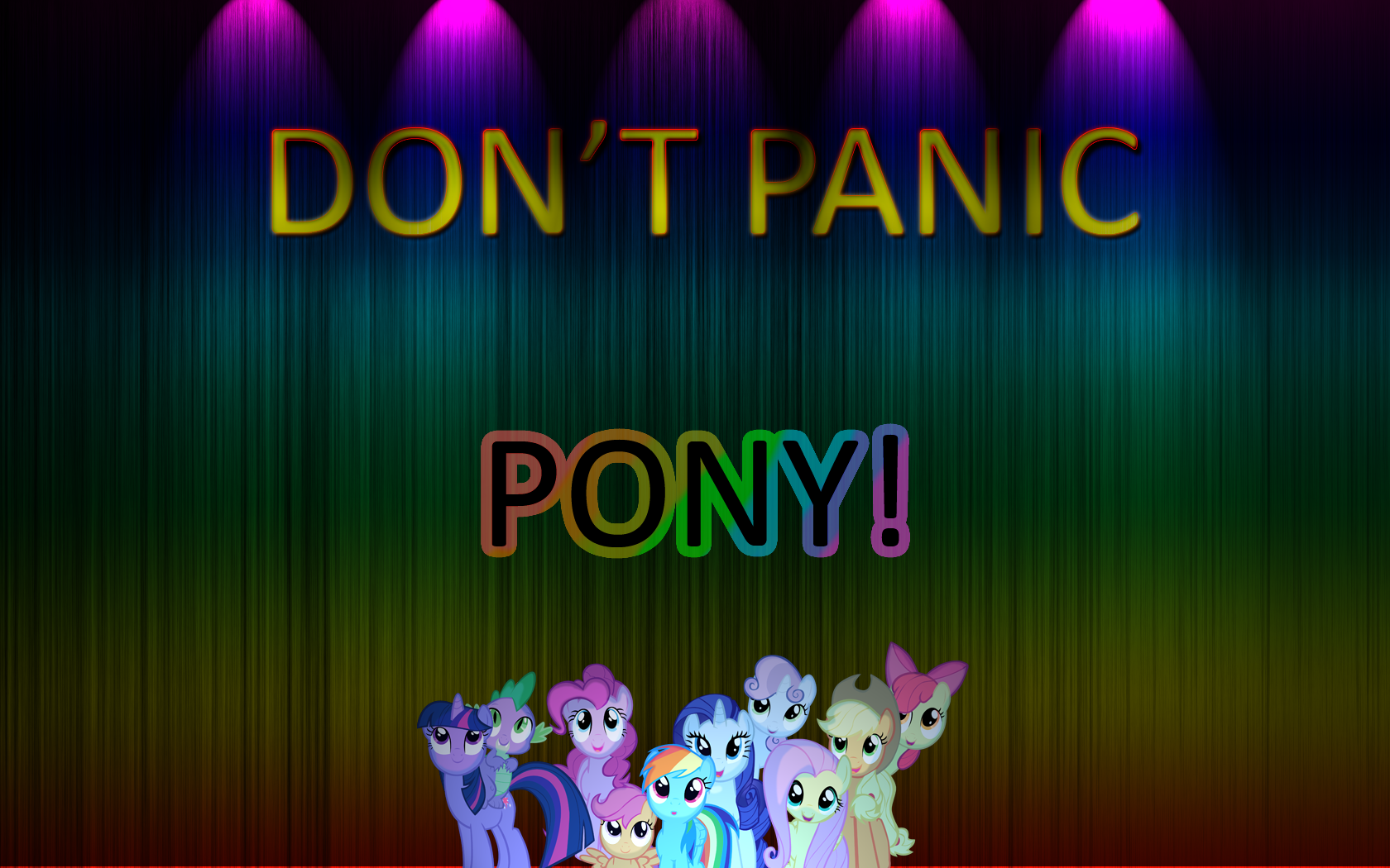 Don't panic:Pony by F-Frost