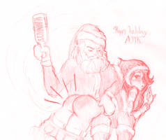 Have I been naughty Santa? by panpraiser