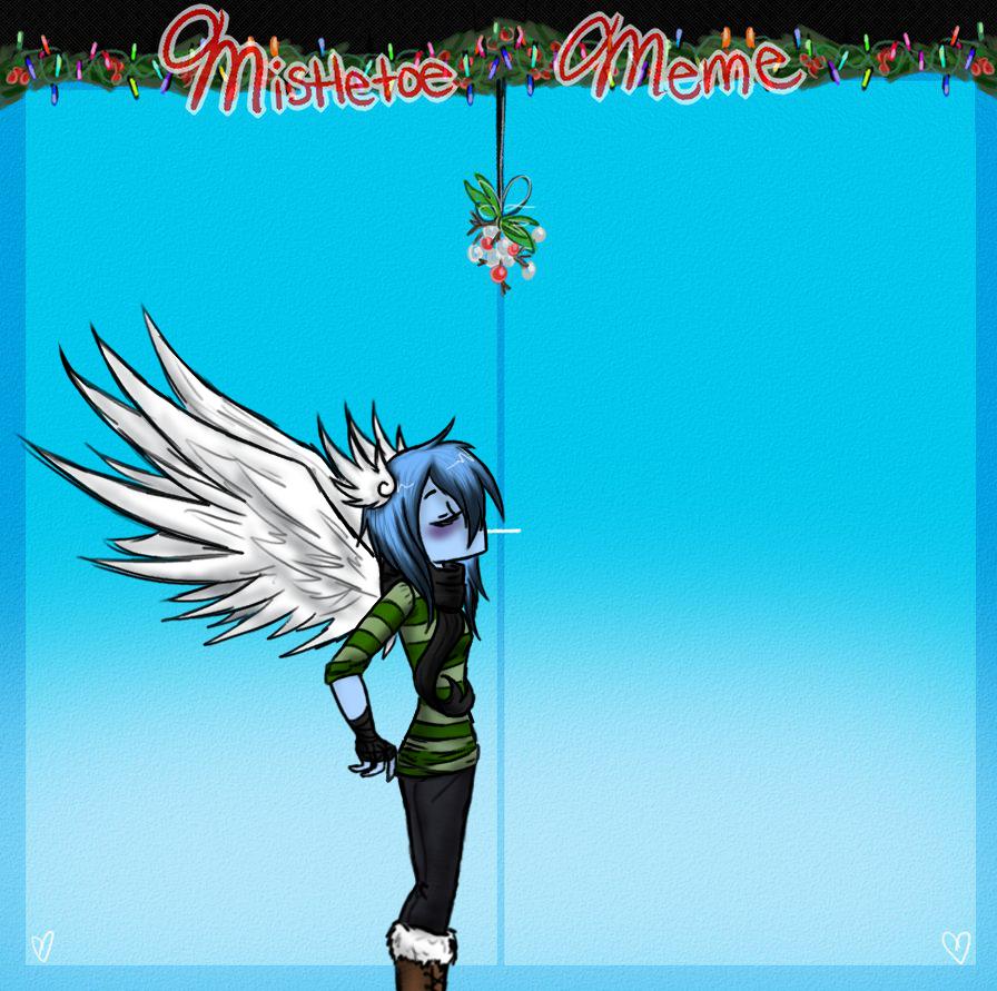 Mistletoe meme by ask-cyclone
