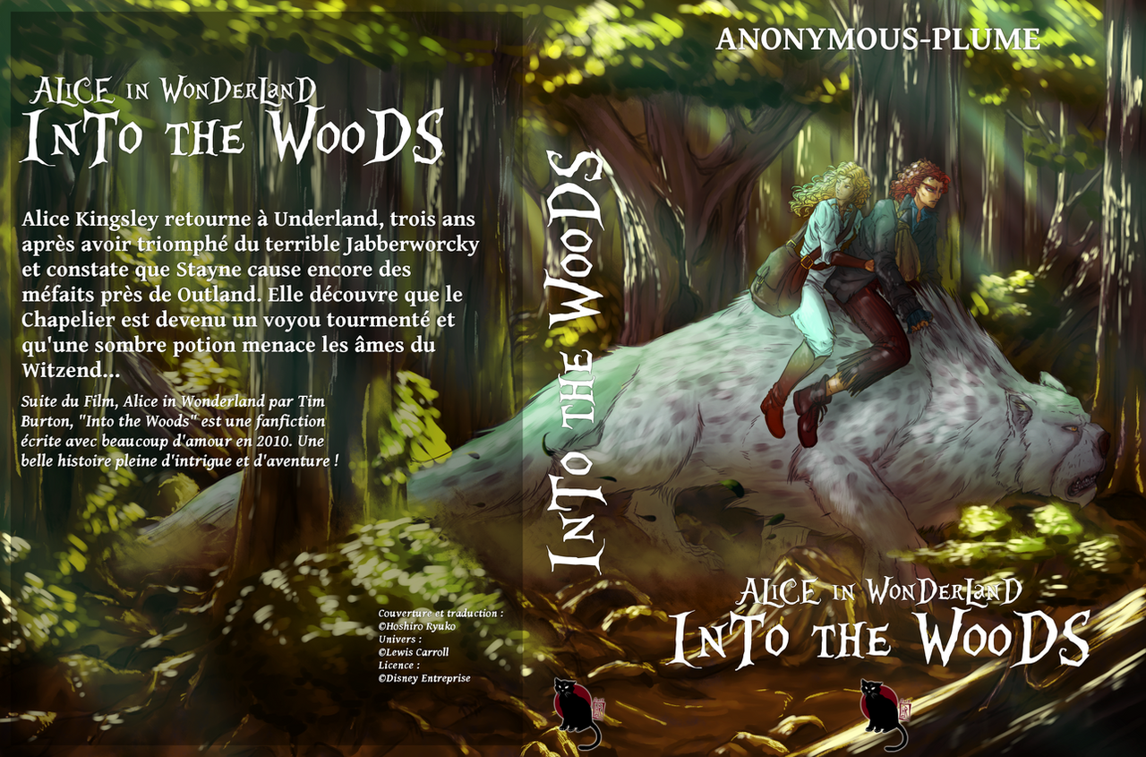 INTO THE WOODS (frenchcover) By