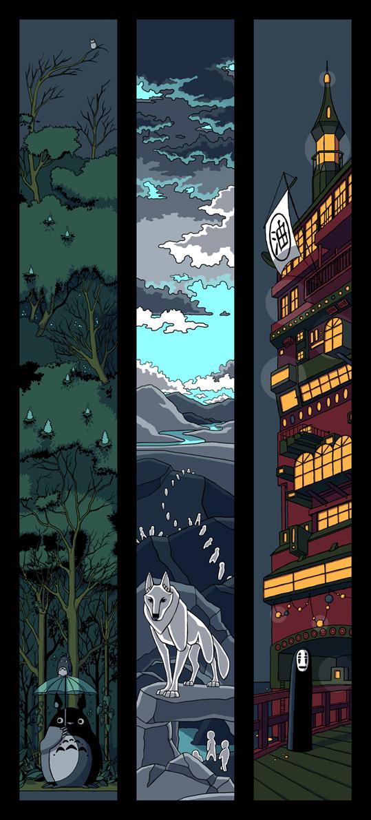 miyazaki by Kantanen